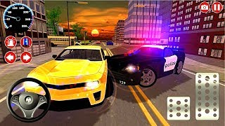 Police car game Real Police Car Driving Simulator 3D #1 - android gameplay