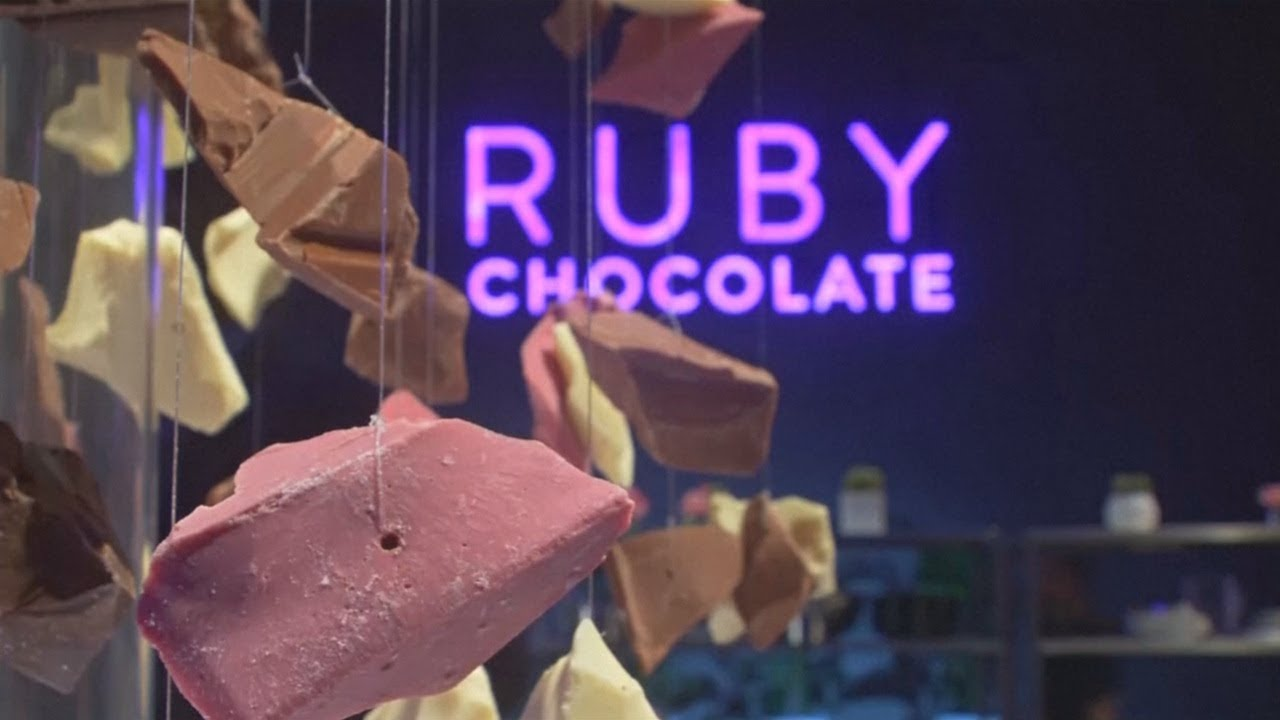 Sep 5, 2017. The latest in a long line of edible and inedible objects to get the pink treatment — including ceviche, cocktails, and entire restaurants — is chocolate. Barry callebaut ag, the world's largest producer of chocolate, claims to have invented an entirely new type of chocolate it calls ruby — and yes, it has a petal.