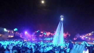 ◢◤ AVICII @ Ushuaia - Ibiza 10.08.2014 - Water Jet Pack AVICII Man