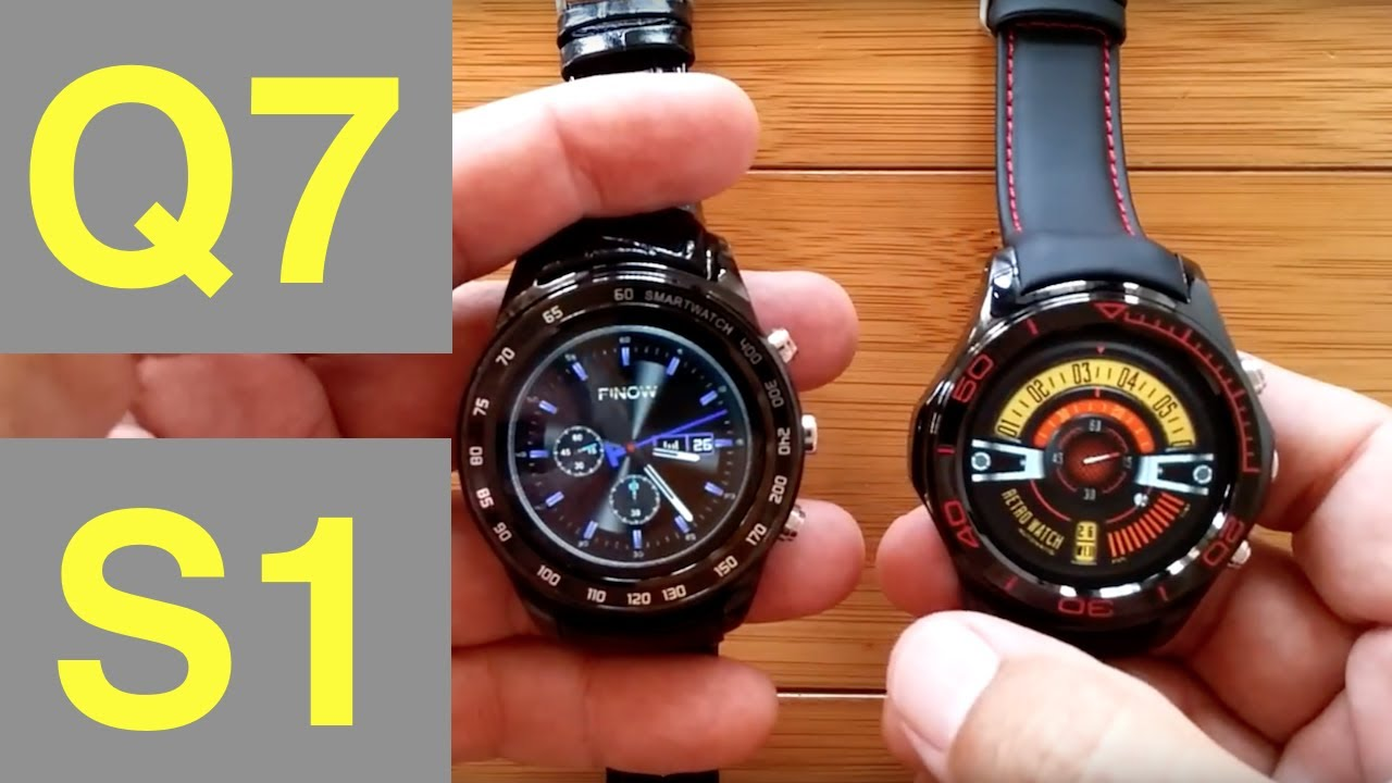 FINOW Q7 vs YYS1 (S1) Android Smartwatches with microSD Support: Which  should you buy? by SmartWatch Ticks