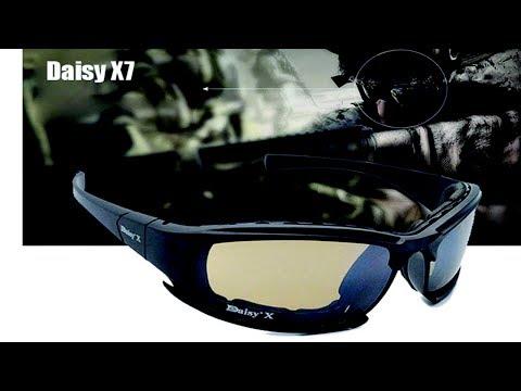 Тактические очки с Aliexpress Daisy X7
