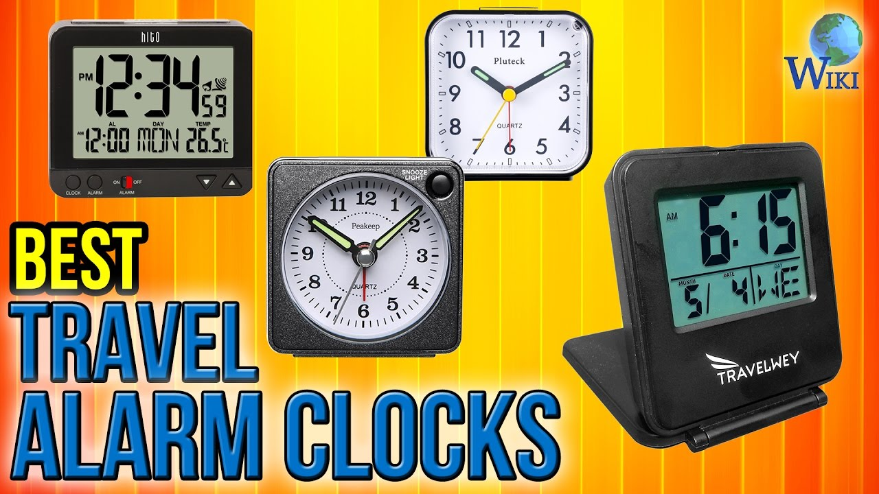 10 best travel alarm clocks 2017 youtube. Black Bedroom Furniture Sets. Home Design Ideas