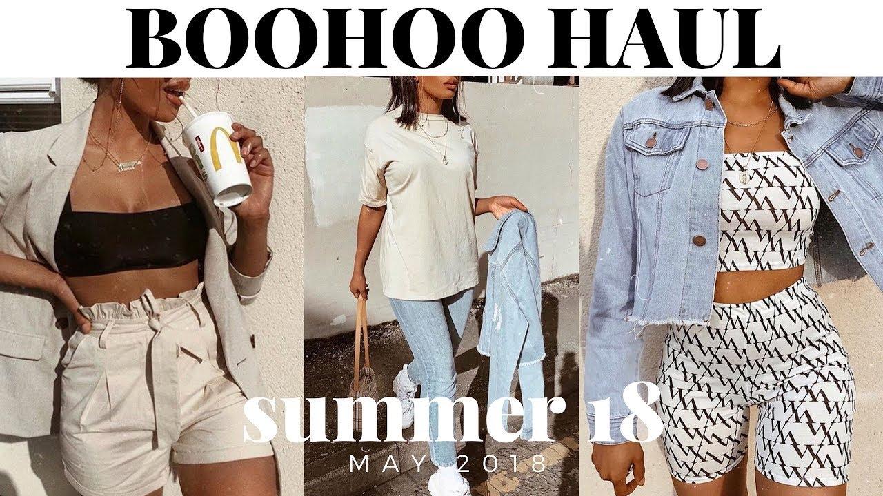 0ca9665749 HUGE BOOHOO SUMMER CLOTHING HAUL & TRY ON | SARAHJOHOLDER - YouTube