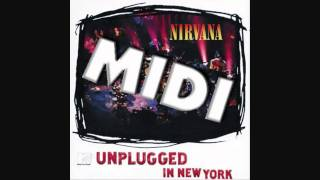 Nirvana- Polly [MTV Unplugged] ( Midi Sound )