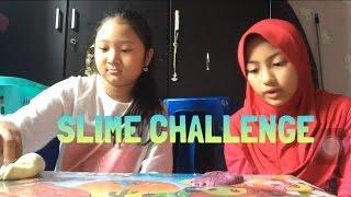 SLIME CHALLENGE !!