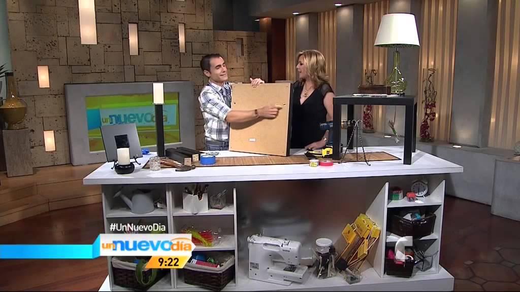 Telemundo un nuevo d a ideas para reciclar muebles viejos youtube - Ideas para reciclar muebles viejos ...