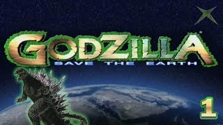 "Part 01 ""Godzilla 2000"" - Godzilla: Save the Earth [Xbox]"