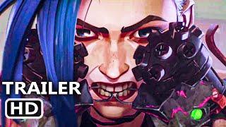ARCANE Teaser ufficiale (Netflix, 2021) League of Legends, Netflix Animated Series HD