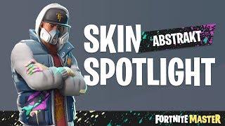 Abstract Skin Spotlight (Fortnite Battle Royale)