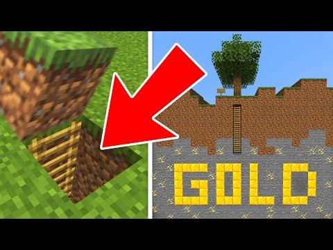 I Found A SECRET GOLD MINE In Minecraft!!