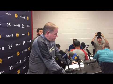Brian Kelly press conference post-NC State