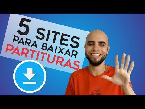 5 SITES PARA BAIXAR PARTITURAS GRATUITAS