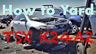 How to Yard TSX