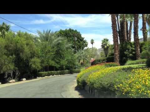 The Mesa, Palm Springs, CA - Celebrity Enclave - Driving Tour