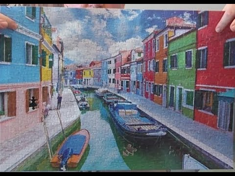 Burano Island Canal Time-lapse