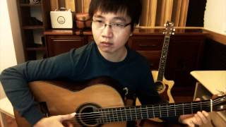 The Beatles - I Will, classic guitar cover by Dang Truong Giang