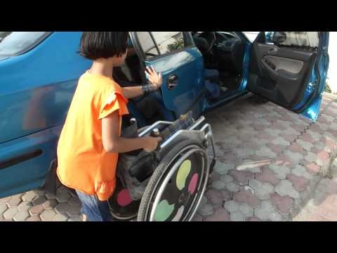 2010Sep04 How to ride & drive a car for a person with physically handicapped