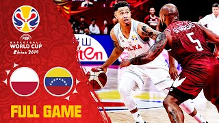 Poland was simply too much for Venezuela! - Full Game - FIBA Basketball World Cup 2019