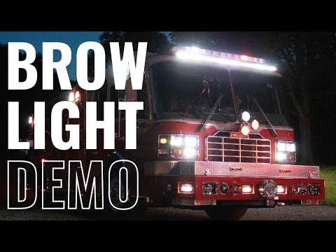 FireTech Brow Light Demo Reel