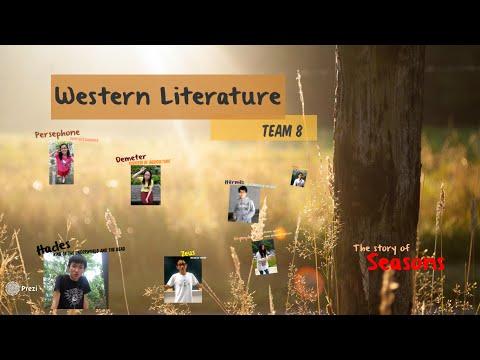 Western Literature X Team 8 - SEASONS