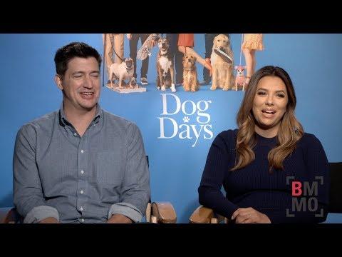 Eva Longoria & Ken Marino Interview - Dog Days Mp3