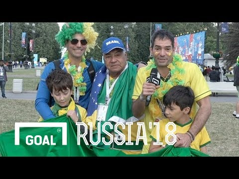 World Cup: Brazilian family hoping for World Cup glory