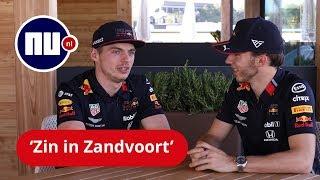 'Uitdagend om limiet te vinden op circuit Zandvoort' - Verstappen