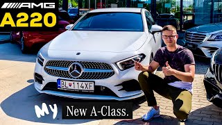 MY NEW CAR 2020 MERCEDES A220 AMG COLLECTION DAY! MY SECOND MERCEDES!