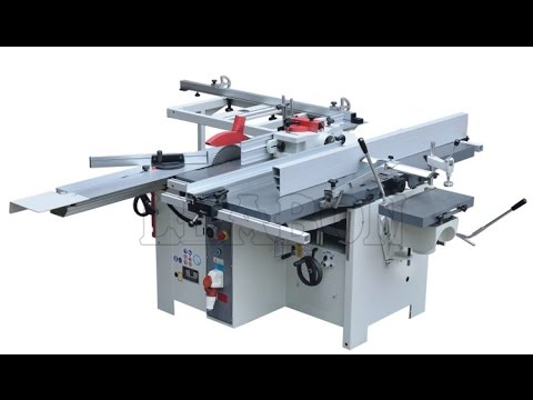 Multi Function Woodworking Machine 5 In 1 Youtube