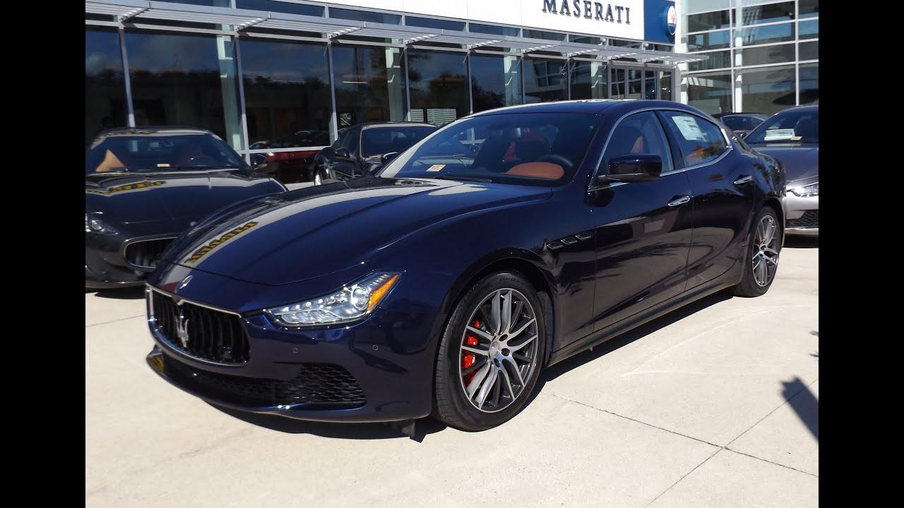 Maserati Ghibli Q4 >> 2015 Maserati Ghibli S Q4 Twin Turbo V6 Quick Tour - YouTube
