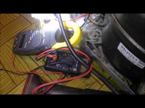Ремонт холодильника Daewoo, замена вентилятора