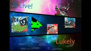 Lukely's Roblox Simulator sunday stream!