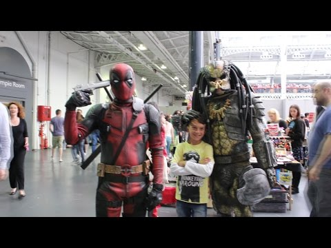 London Film & Comic Con July 2016 - Deadpool and Predator BEST