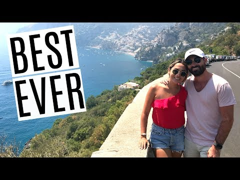 TRAVELING ALONG THE AMALFI COAST! THE TWO BEST WEEKS OF OUR LIFE | ALEX & MICHAEL