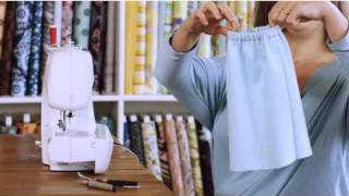 How to Sew an Elastic Waistband | Sewing Lessons