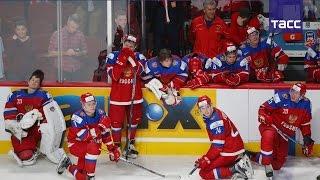 Хоккеисты молодежной сборной России уступили команде США в полуфинале МЧМ
