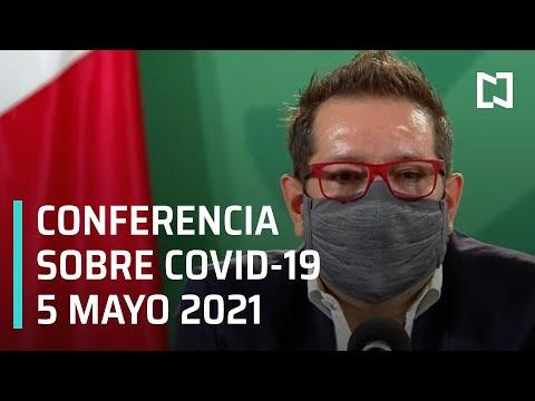 Informe Diario Covid-19 en México - 5 Mayo 2021