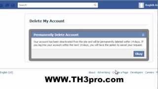 الحلقة465: كيف تحذف حساب فيسبوك نهائيا