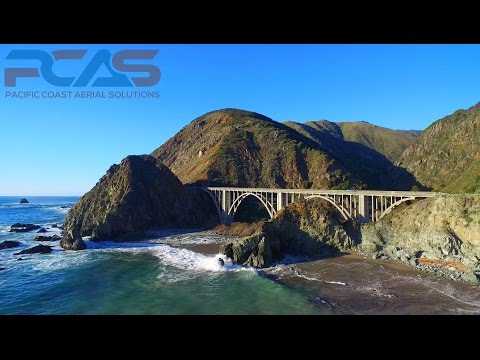 Big Sur - Beautiful 4K Drone Footage Mixed With Mellow Music