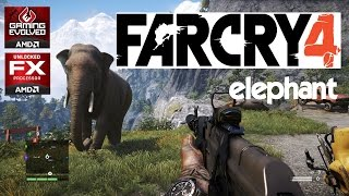 FarCry4 - Gameplay -- Ride an Elephant