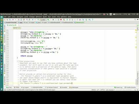 Android Kotlin Tutorial #094 - Generics - Star-projections