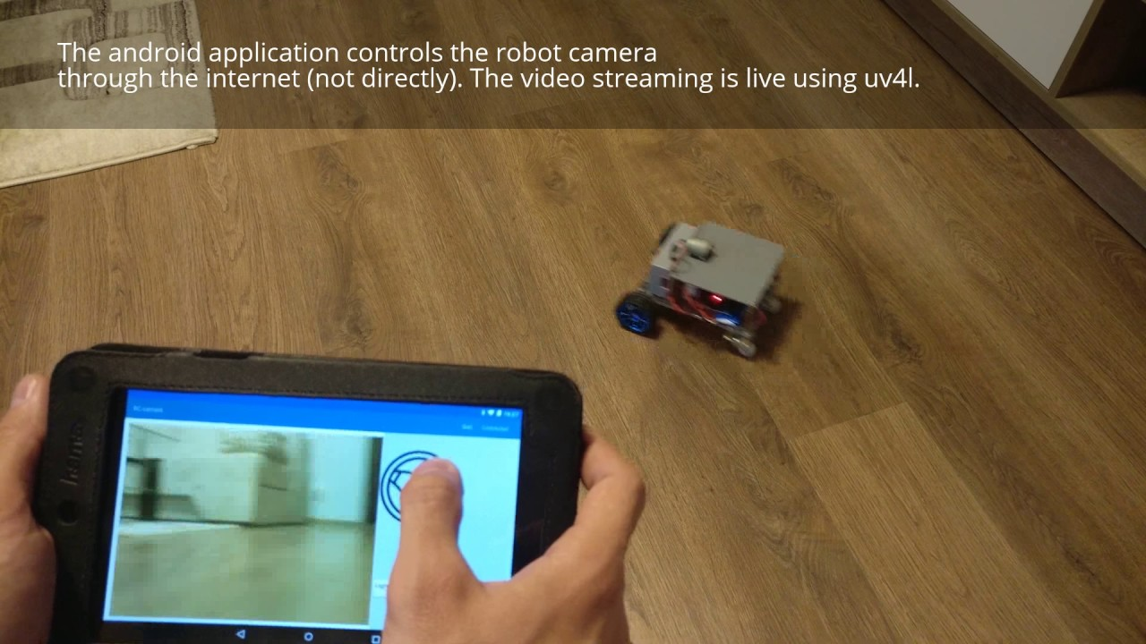 Android Controlled Robot Spy Camera: 8 Steps (with Pictures)