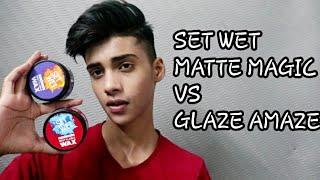 Set Wet Matte Magic VS Set Wet Glaze Amaze   Set Wet Hair Wax   MAKEURBEST