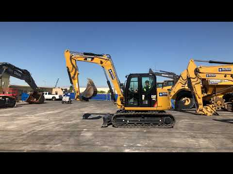 CAT 308E2 CR Mini Hydraulic Excavator