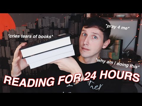 READING FOR 24 HOURS STRAIGHT!