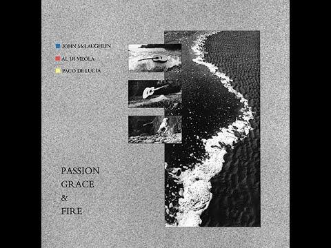 Aspan ~ McLaughlin Di Meola De Lucia 1983 Passion Grace & Fire COLUMBIA LP