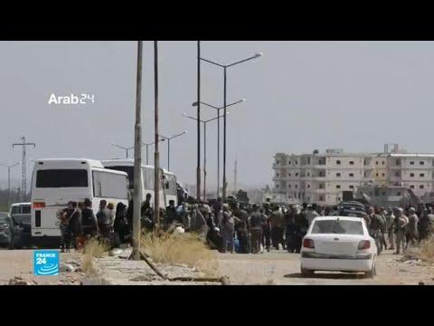 إجلاء سكان كفريا والفوعة بموجب اتفاق بين هيئة تحرير الشام والحرس الثوري الإيراني  - نشر قبل 2 ساعة