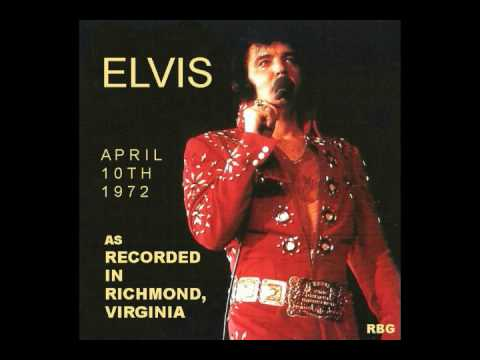Elvis As Recorded In Richmond Virginia April 10th,1972 cd-best sound