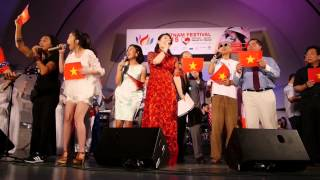 "Viet Nam Festival 2015 Ending ""Happy to see you"""