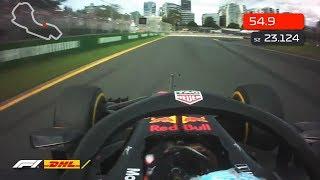 F1 2018 Australia Grand Prix Fastest Lap | Daniel Ricciardo